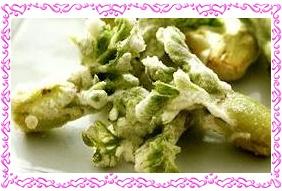 美味しいタラの芽の天ぷら